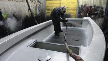 Préparation bateaux pour le printemps